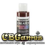 Краска для аэрографии Createx Colors - Transparent 5136 - Transparent Red Oxide, 60 мл
