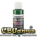 Краска для аэрографии Createx Colors - Transparent 5109 - Transparent Brite Green, 60 мл