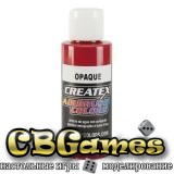 Краска для аэрографии Createx Colors - Opaque 5210-Opaque Red, 60 мл