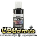 Краска для аэрографии Createx Colors - Opaque 5211-Opaque Black, 60 мл