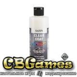 Сатиновый прозрачный лак для красок Createx Clear Coat Satin 5621, 60 мл