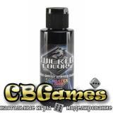 Краски для аэрографа Wicked Colors-W031-Jet Black