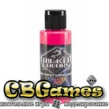 Краски для аэрографа Wicked Fluorescent Colors-W026-Pink