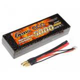 Аккумулятор Gens Ace LiPO 7,4 В 5000 мАч 2S 50C (B-50C-5000-2S1P-HardCase-10)