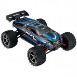 Автомобиль Traxxas E-Revo VXL Brushless Monster 1:16 RTR 328 мм 4WD TSM 2,4 ГГц (71076-3 Blue)