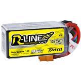 Аккумулятор Tattu R-Line LiPO 14,8 В 1550 мАч 4S 95C (TA-RL-95C-1550-4S1P)