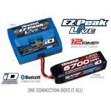 Комплект Traxxas EZ-Peak Live 100-240 В 12 А 100 Вт 2971 + 2 шт LiPO 14,8 В 6700 мAh 4S 25C 2890X (2993)