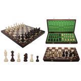 Шахматы 3135 CONSUL, коричневые, 48x24x6см (король 90мм)