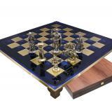 Шахматы S11BLU 44х44см, Manopoulos,