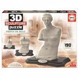 Пазл 3D EDUCA Скульптура, Венера Милосская, 190 элементов