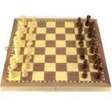 Шахматы деревянные с магнитом (29х29х2 см) W7722M