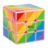 Smart Cube Rainbow pink | Радужный кубик розовый.