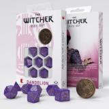 Набор кубиков Q Workshop The Witcher Dice Set. Dandelion - Viscount de Lettenhove