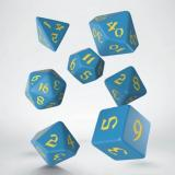 Набор кубиков Classic Runic Blue & yellow Dice Set