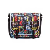 Официальная сумка Star Wars – Retro Characters Comic Style Messenger bag