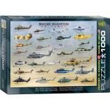 Пазл Eurographics Военные вертолеты, 1000 элементов