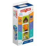 Geomag MAGICUBE Sports 3 cubes | Магнитные кубики Спорт