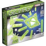Geomag Glow 30 деталей | Светящийся магнитный конструктор Геомаг