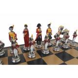 Набор ItalFama Наполеон шахматы + шашки + нарды (1957222GN)