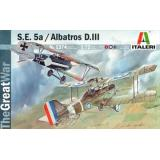 ITA 1374 Самолет S.E.5a/Albatros D.III