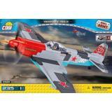 Конструктор COBI Вторая Мировая Война Самолет Як-3, 235 деталей