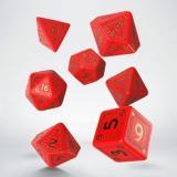 Набор кубиков RuneQuest Red & gold Dice Set