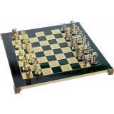 Шахматы Manopoulos Минойский воин в деревянном футляре 36 х 36 см 4.8 кг (S8GRE)