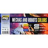 Набор акриловых красок AMMO A-MIG-7127: Звездные войны, роботы и техника (MIG (AMMO) 7127)