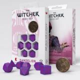 Набор кубиков Q Workshop The Witcher Dice Set. Dandelion - the Conqueror of Hearts