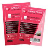 Протекторы для карт Games7Days (43 х 65 мм, Mini Chimera, 50 шт.) (PREMIUM)