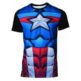 Официальная футболка Marvel – Captain America Men's T-shirt – XL