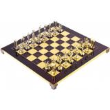 Шахматы Manopoulos Минойский воин в деревянном футляре 36 х 36 см 4.8 кг (S8RED)