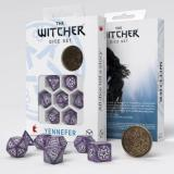 Набор кубиков Q Workshop The Witcher Dice Set. Yennefer - Lilac and Gooseberries