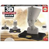 Пазл 3D EDUCA Скульптура, Нефертити, 190 элементов