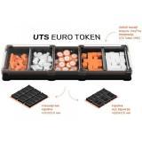 Игронайзер UTS Euro Token черный Meeple House
