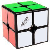 QiYi WuXia 2x2 M | Магнитный Кубик 2х2 черный