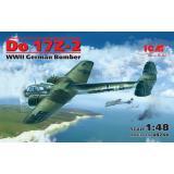 ICM 48244 Немецкий бомбардировщик Do 17Z-2, II Мировая война