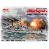 ICM S.017 Немецкий линейный корабль Markgraf. Первая Мировая война