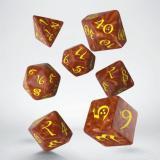 Набор кубиков Classic RPG Caramel & yellow Dice Set