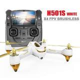 Квадрокоптер Hubsan X4 FPV Brushless 5,8 ГГц HD GPS Altitude 2,4 ГГц RTF (H501S-S White)