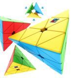 MoYu Meilong Jinzita Pyraminx stickerless | Пирамидка Мейлонг без наклеек