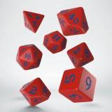 Набор кубиков Classic Runic Red & blue Dice Set