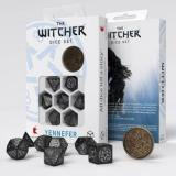 Набор кубиков Q Workshop The Witcher Dice Set. Yennefer - The Obsidian Star