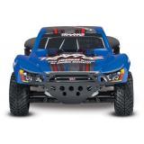 Автомобиль Traxxas Slash Brushless Short Course 1:10 RTR 568 мм 4WD 2,4 ГГц TSM (68086-4 Blue)