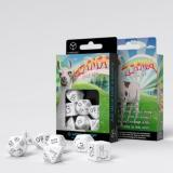 Набор кубиков Bright Llama Dice Set (White & black)