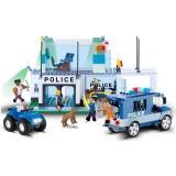 Конструктор COBI 'Штаб-квартира полиции ', 420 деталей