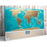 Скретч карта мира My Map Flags edition