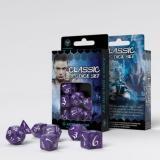 Набор кубиков Classic RPG Lavender & white