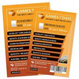 Протекторы для карт Games7Days (65 х 100 мм, Magnum, 50 шт.) (PREMIUM)