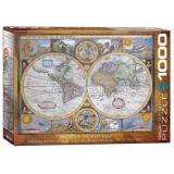 Пазл Eurographics Античная карта мира, 1000 элементов
